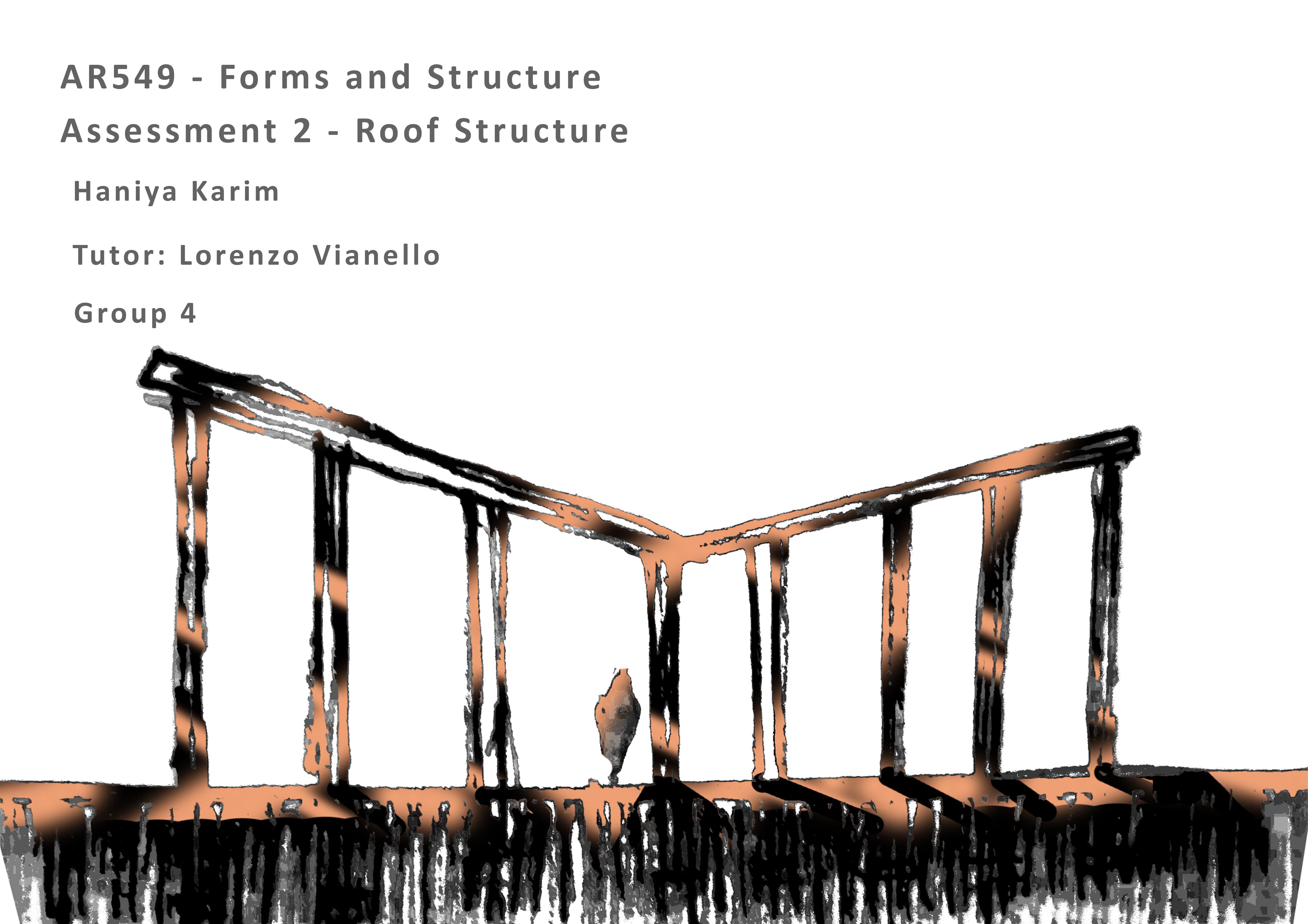 Roof Structure – Haniya Karim